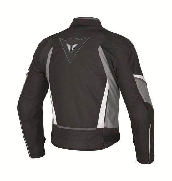 Dainese Crono Tex Lady motorcycle jacket black castle rock white
