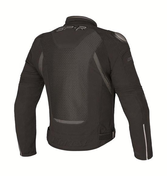 Giacca moto Dainese Super Speed Tex nero-nero-grigio