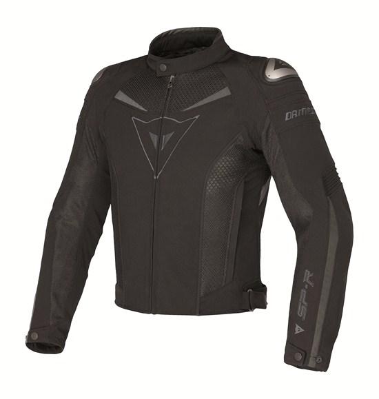 Dainese Super Speed Tex motorcycle jacket black-black.gray