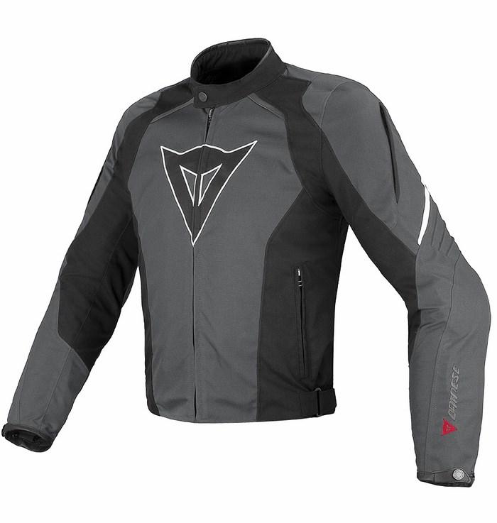 Jacket Dainese Laguna Seca Tex Dark Gull Gray Black White