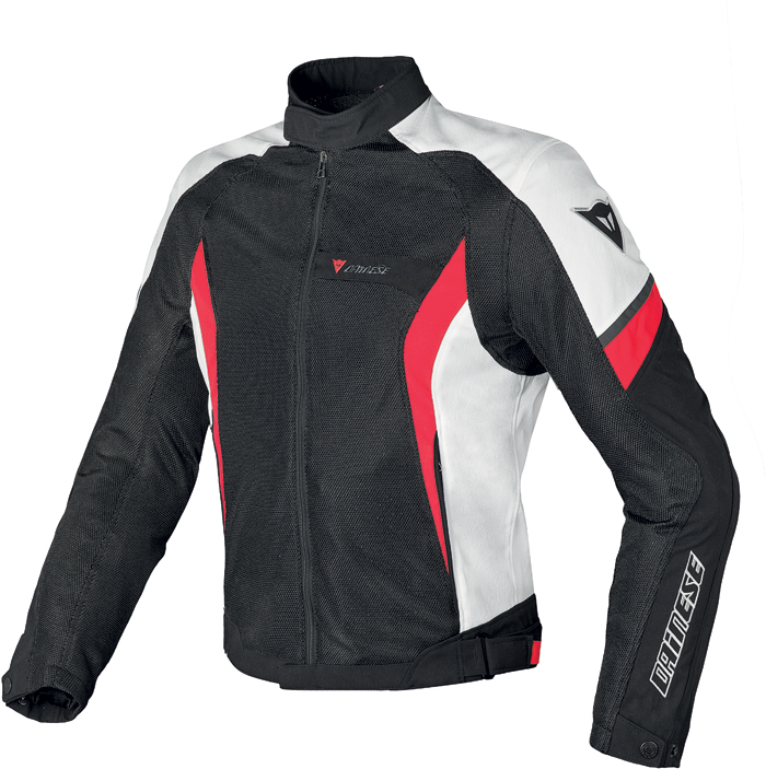 Dainese Air Crono Tex jacket black white red