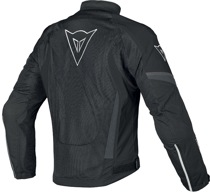 Dainese Air Crono Tex jacket black black dark gull gray