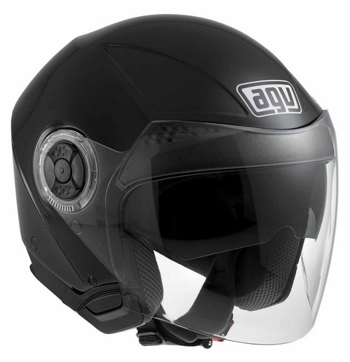 Casco moto Agv New Citylight Mono nero