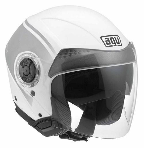 Casco moto Agv New Citylight Multi World bianco-gunmetal