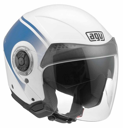 Casco moto Agv New Citylight Multi World bianco-blu