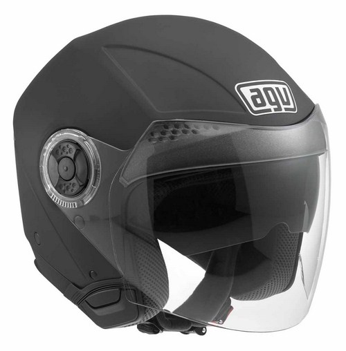 Casco moto Agv New Citylight Mono nero opaco