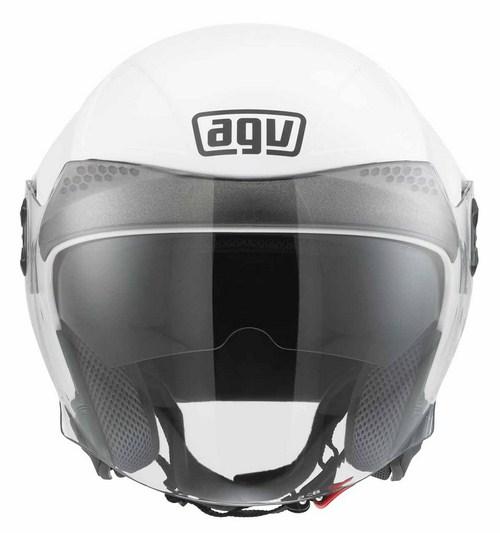 Agv New Citylight Mono jet helmet white