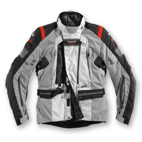 Motorcycle jacket Clover GTS WP 3 layers Grey