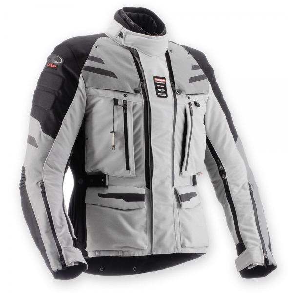 Clover Crossover Airbag jacket Grey