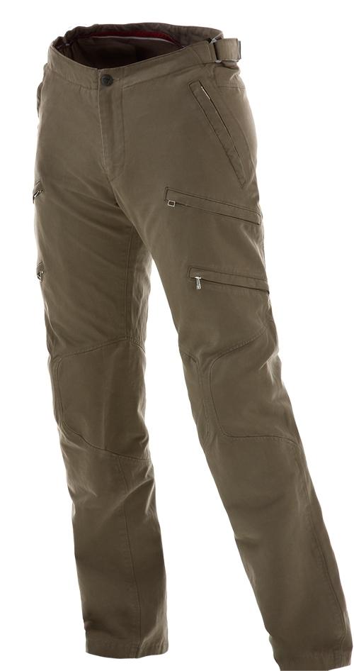 Pantaloni moto Dainese New Yamato Cotton verdi