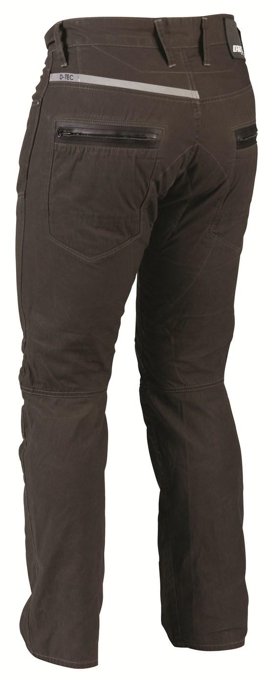 Dainese D3 Canvas pants verdone