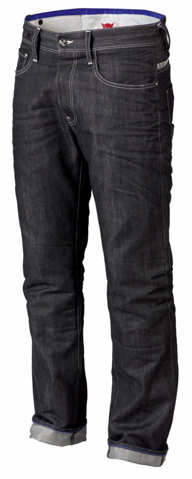 Dainese D6 Kevlar motorcycle jeans col. Denim