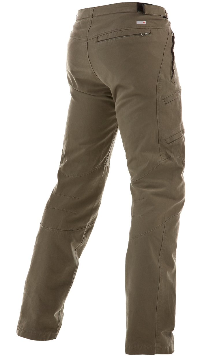 Pantaloni moto Dainese Yamato Evo Cot 2C Verde militare