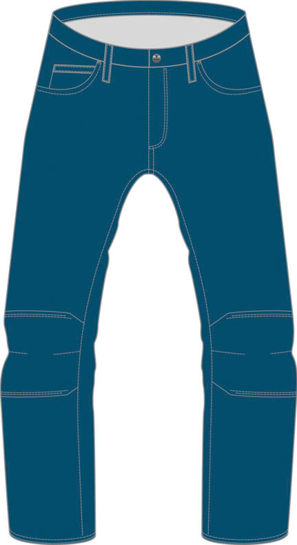 Dainese Kansas 1K Denim Jeans