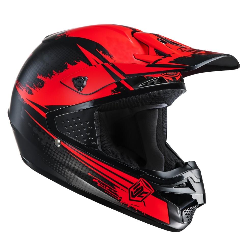 HJC CSMX cross helmet Zealot MC1SF