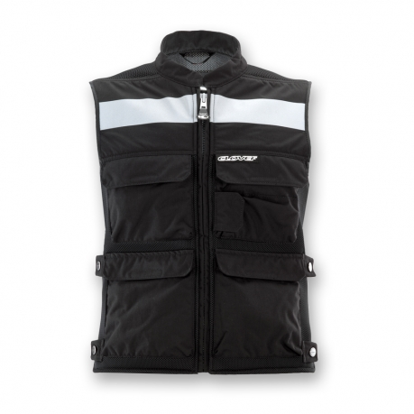 Gilet moto Clover Plug and Play Nero