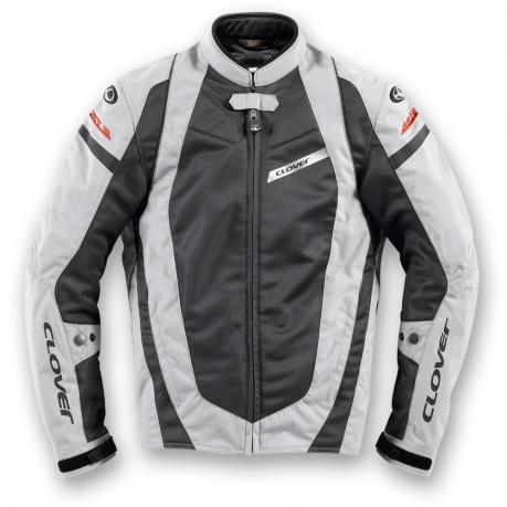 Summer motorcycle jacket Clover AirJet 2 Grey