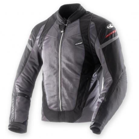 Summer motorcycle jacket Clover AirJet 2 Black