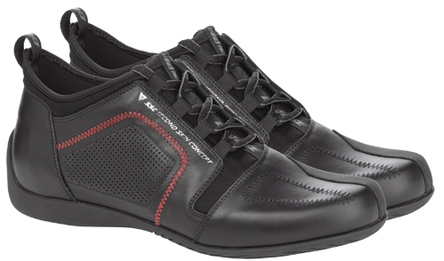 Dainese SSC Delta motorcycle shoes black-black-red