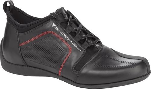 Scarpe moto Dainese SSC Delta nero-nero-rosso