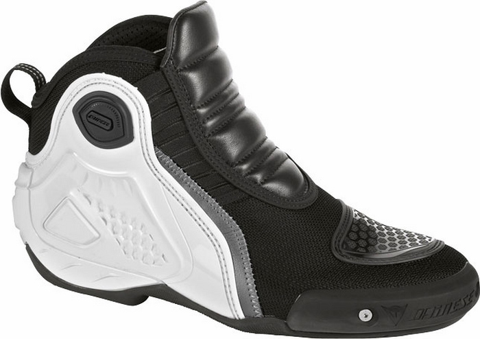 Dainese Dyno Shoes Black White C2B
