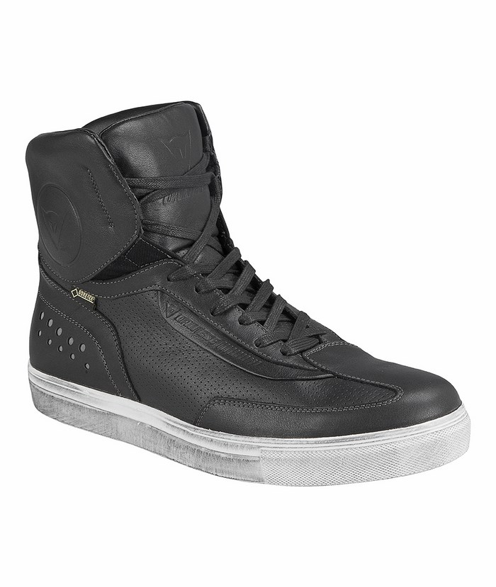 Street Runner Shoes Dainese Gore-Tex Black