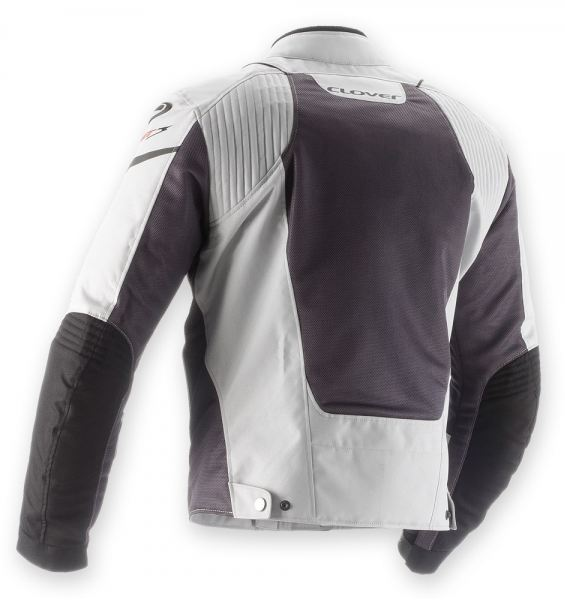 Motorcycle jacket women summer Clover AirJet 3 Lady Grey