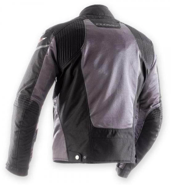 Motorcycle jacket women summer Clover AirJet 3 Lady Black