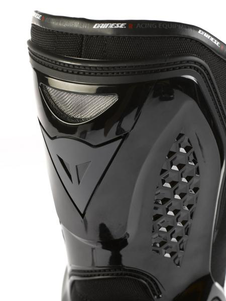 Dainese TRQ-Race Out motorcycle boots white-black