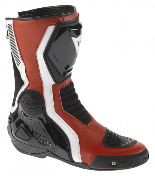 Dainese Giro-ST motorcycle boots red-white-black