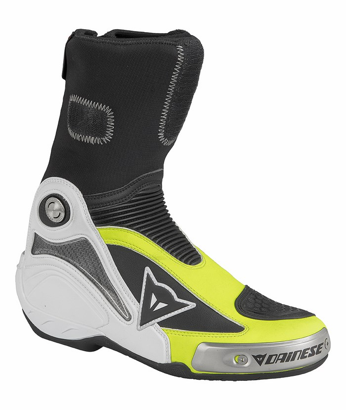 Dainese Axial Pro In Boots Black Yellow