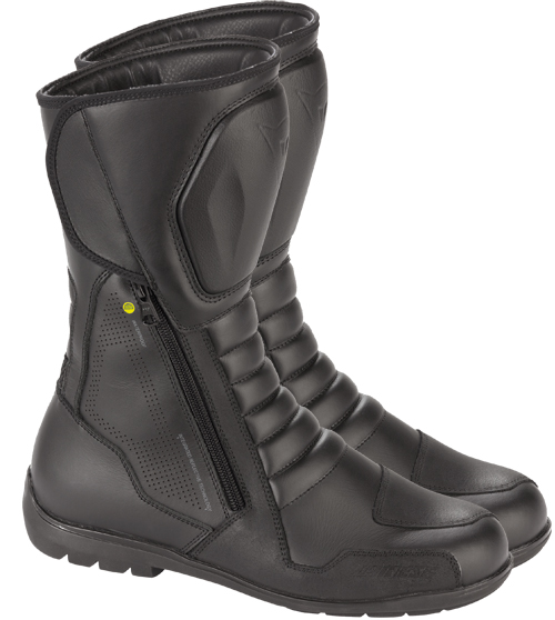 Dainese Long Range D-WP motorcycle boots black