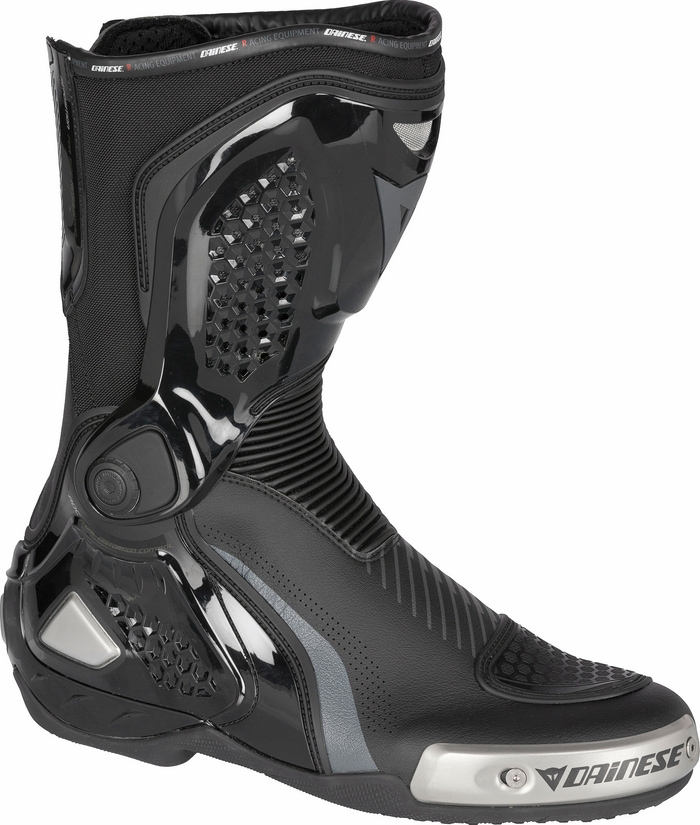 RS motorcycle boots Dainese Torque Out D-WP Carbon Black Anthrac