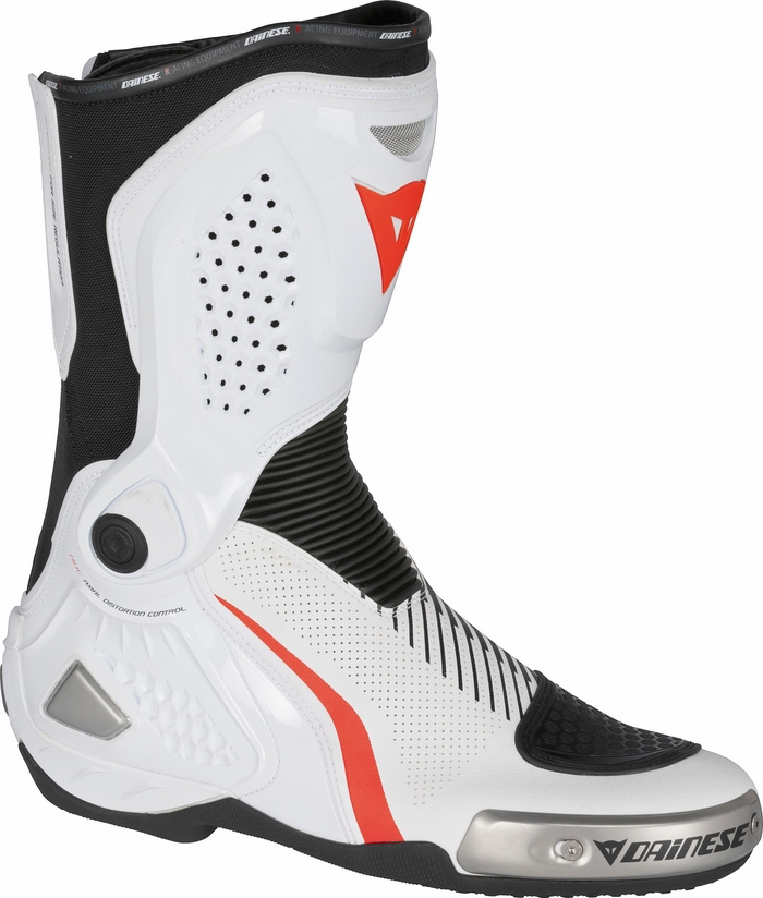 RS motorcycle boots Dainese Torque Out Air White Black Red