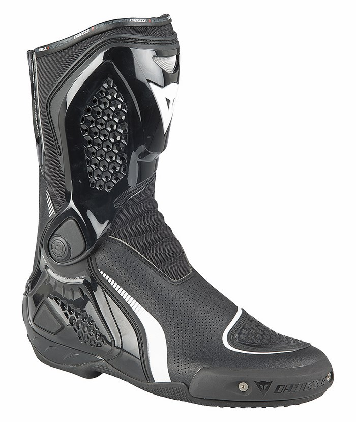Stivali moto Dainese TR-Course Out Air Nero Bianco