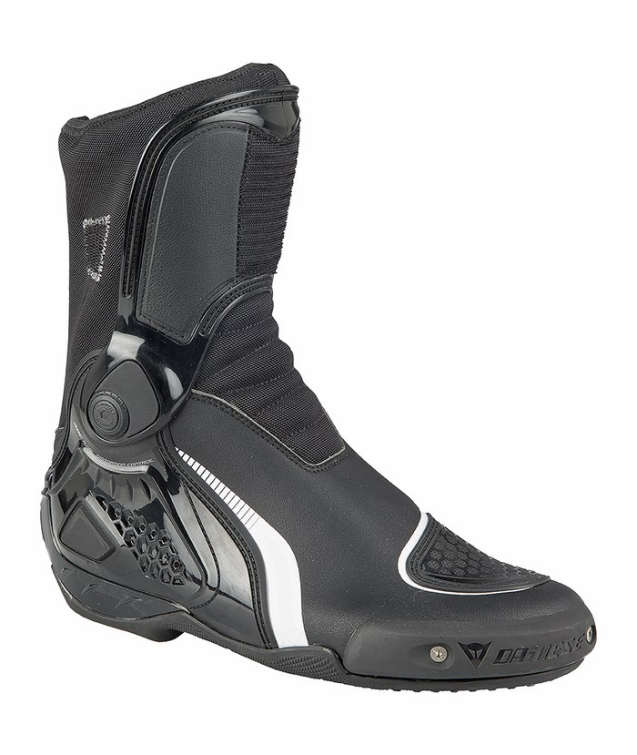 Motorcycle boots Dainese TR-Course IN Black White