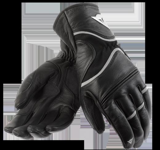 Guanti moto Dainese RS2 nero-rifrangente-nero