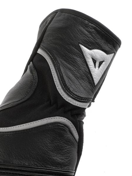 Dainese RS2 motorcycle gloves black-silver-black