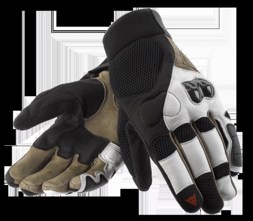 Guanti moto Dainese 2-Stroke nero-bianco