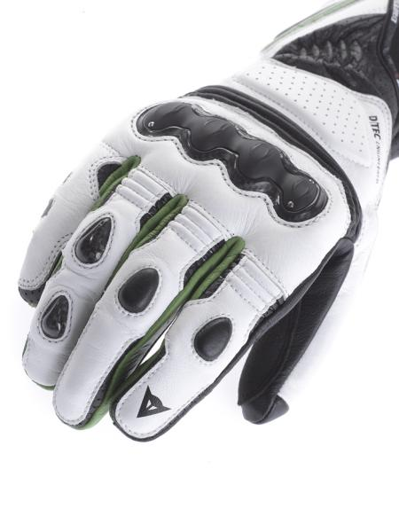 Dainese Pro Carbon motorcycle gloves black-black-yellow