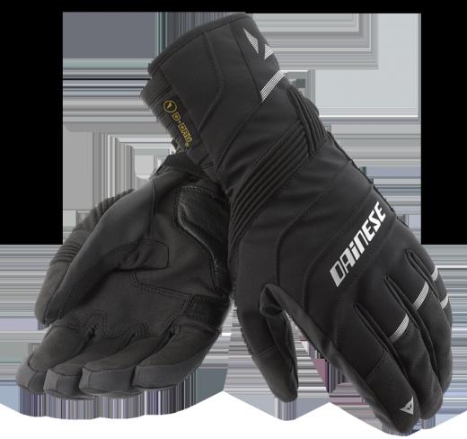 Guanti moto Dainese Garda D-Dry nero-carbonio-nero