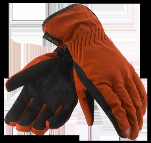 Guanti moto Dainese Kansas D-Dry rosso-nero