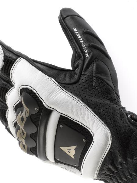 Dainese 4-Stroke motorcycle gloves black-white-white