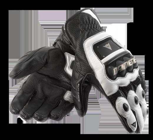 Guanti moto Dainese 4-Stroke nero-bianco-bianco