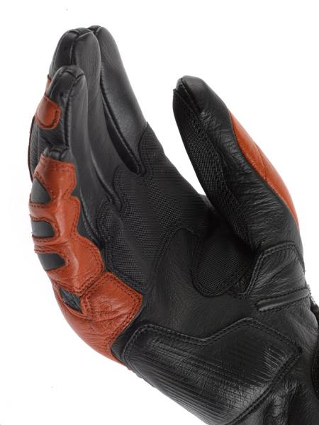Dainese Ricochet motorcycle gloves black-white-black