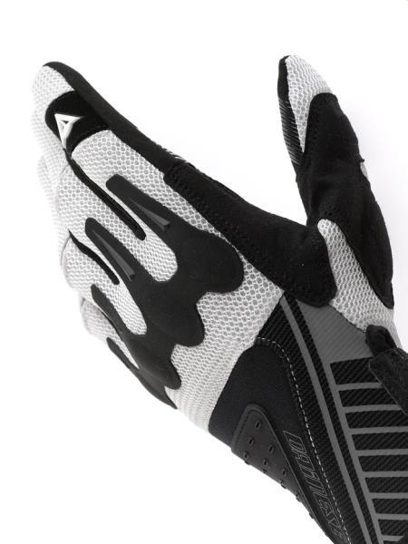 Guanti cross Dainese Huge Air bianco-nero-argento