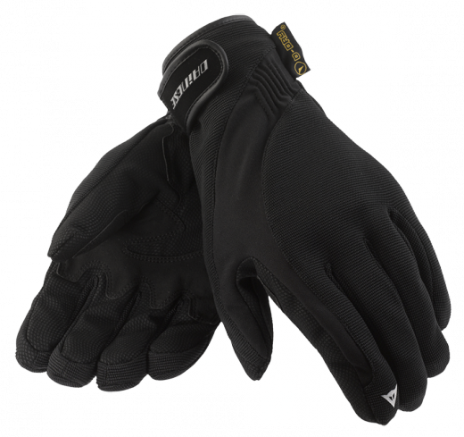 Dainese Savana D-Dry motorcycle gloves black-black-black