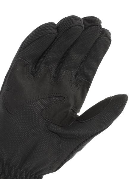 Dainese Savana D-Dry motorcycle gloves black-red-black