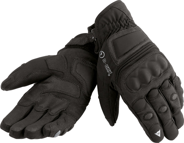 Dainese Clutch D-Dry motorcycle gloves black-black