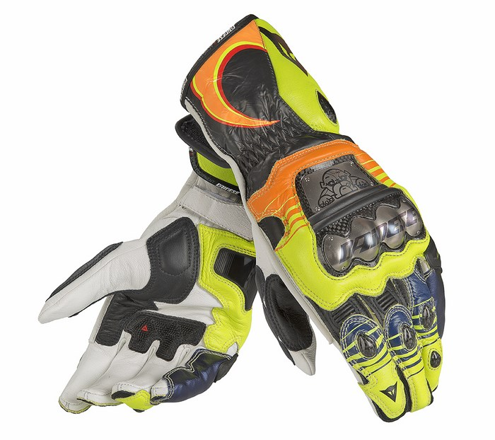 Leather Motorcycle Gloves Dainese Valentino Replica 13